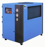Portable Chillers are used in injection molding applications.
