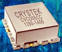 Surface-Mount VCO operates from 1,260 to 1,400 MHz.
