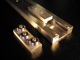 Linear Guide System features compact design.