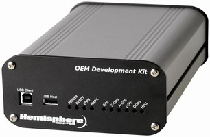 Development Kit addresses dual-frequency GPS receiver.