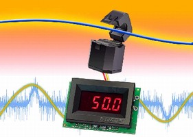 AC Ammeters feature built-in current transformers.