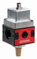 Pressure Regulators control compressed air and gas.
