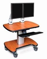 Telescopic Cart offers adjustable height.