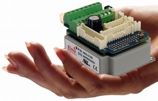 Miniature Servo Drive is built for high power density.