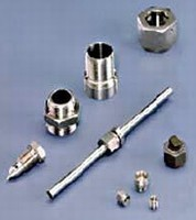 Custom Fittings suit aerospace and other applications.