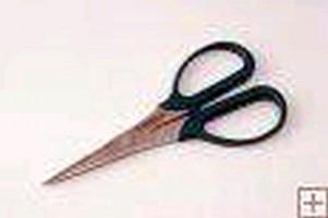 Combination Scissors feature 2-in-1 cutting blade.