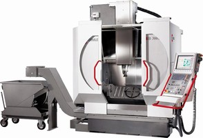 Machining Center is available in 3- and 5-axis configurations.