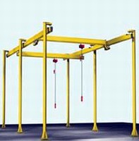 Custom Crane Systems offer capacities up to 3 tons.