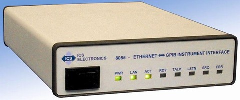 Ethernet to Instrument Interface complies with VXI-11.3.