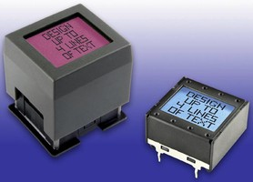 Pushbutton Switches/Displays have programmable LCDs.