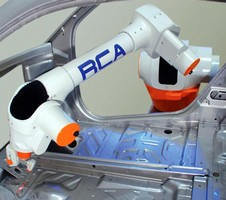 Robotized CMM Arm accelerates laser inspection jobs.