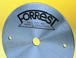 Forrest Manufacturing's Dampener Disks Eliminate Motor and Blade Vibration