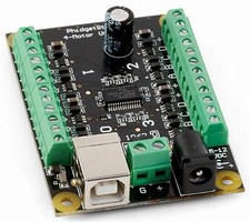 Stepper Motor Controller is user-programmable.