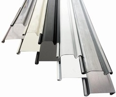 Roll-Up Slat-Type Doors withstand heavy motorized traffic.