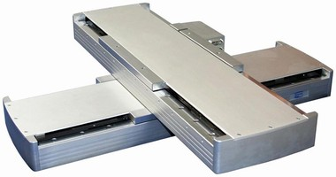 Linear Motor Stage features low-profile design.