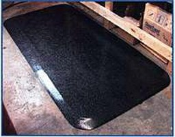 Mats offer fatigue relief for workers.