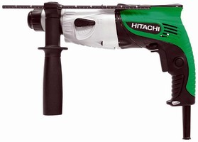 Compact Rotary Hammer allows access to tight areas.