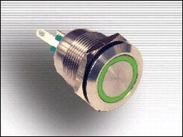 Pushbutton Switches feature vandal-resistant design.