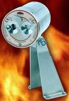 High-Temp UV Flame Detector responds rapidly to fires.