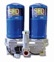 Dryer System delivers contaminant-free compressed air.