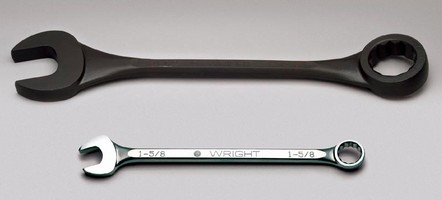 Wright Tool Offers Broadest Range of Large-Sized 12-Point Combination Wrenches