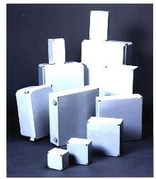 Fiberglass Enclosures provide corrosion protection.