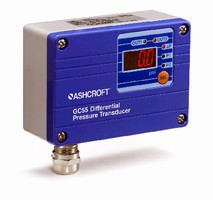 DP Transmitter provides 3-wire, 4-20 mA or 1-5 Vdc output.