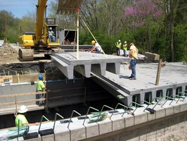 Composite Advantage Builds New Drop-In-Place Frp Superstructure For Eight Mile Road Bridge In Ohio