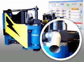 Electric Tube Bender offers multi-stack tooling.
