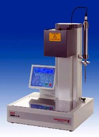 Tester measures intrinsic viscosity of PET polymers.
