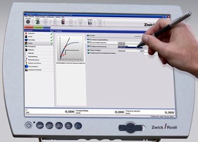 Touch-Screen PC facilitates materials testing operations.