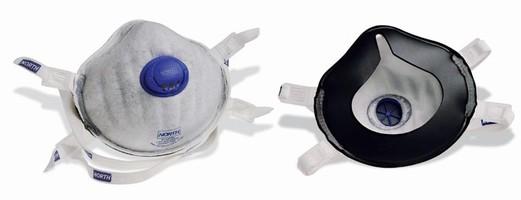 Disposable Respirator features built-in odor relief.