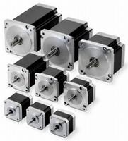 Hybrid Step Motor incorporates torque-optimizing magnets.