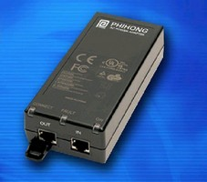 Single-Port Injector meets IEEE 802.3at specifications.