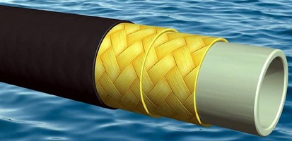 PEEK-Infused Hoses are designed for offshore operations.