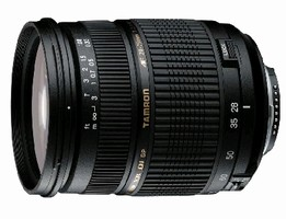 Zoom Lens works with full-size SLR cameras.