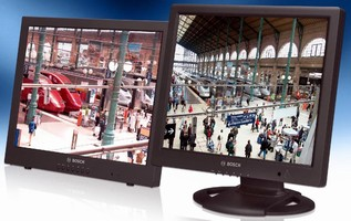 Color LCD Monitors suit professional CCTV installations,.