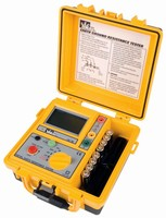 Ground Resistance Tester performs soil resistivity tests.