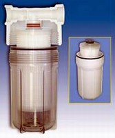 Filter Housing suits high-flow, sub-micron filtration.
