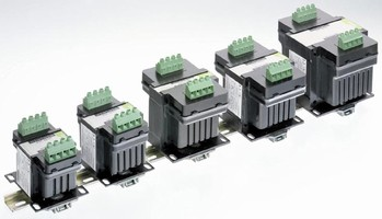 Control Panel Transformers offer dual mounting options.