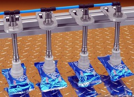 Vacuum Components safely handle foil-wrapped packages.