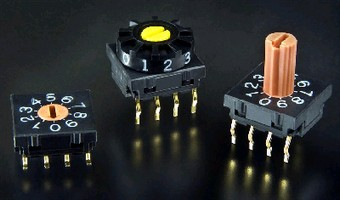 Binary-Coded Rotary Switches meet RoHS directive.