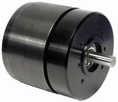 Brushless DC Motor suits portable applications.