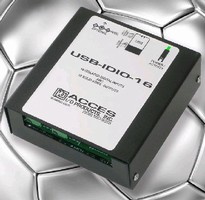 Relay Output Module features USB/104 form-factor.