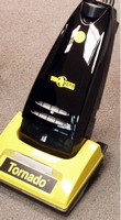 Commercial Upright Vacuum has HEPA filtration, headlight.