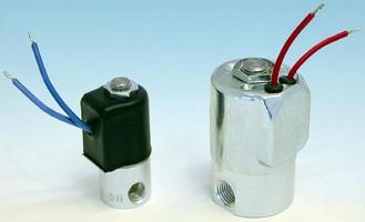 Solenoid Valves feature screw-machined aluminum bodies.