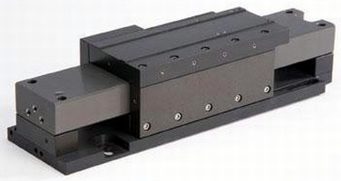 Non-Contact Linear Motor Stage delivers non-friction motion.