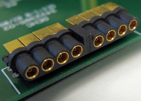 Multi-Port RF Connectors suit small radios and antenna.