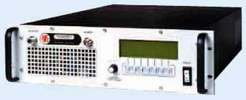 Solid State Ruggedized Amplifier features noise quieting.