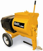 Mortar Mixers work with stiff and abrasive media.